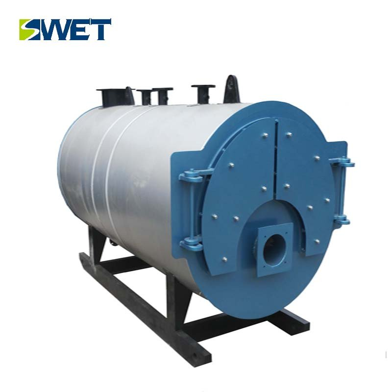 WNS4.2 MW gas oil hot water boiler